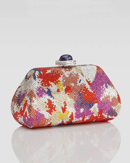 Sweet Kiss Crystal Clutch Bag