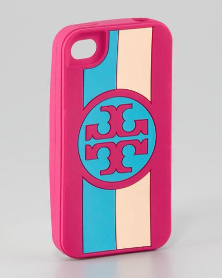 Roslyn Logo Striped iPhone 4 Case