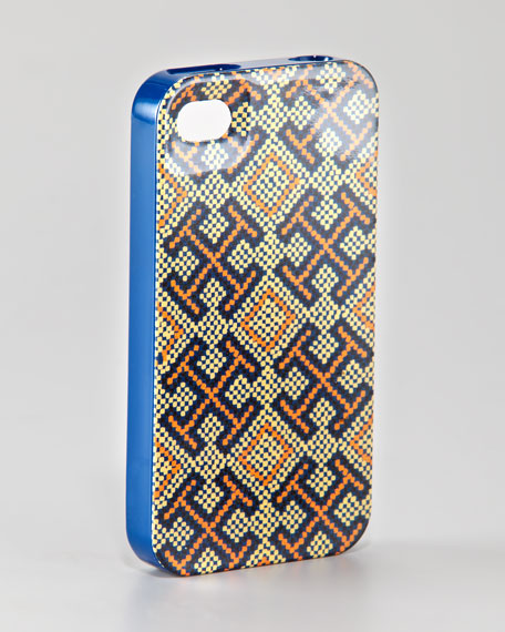 Hard-Shell Logo-Print iPhone 4 Case