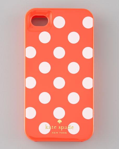 La Pavilion Polka-Dot iPhone 4 Hard Case