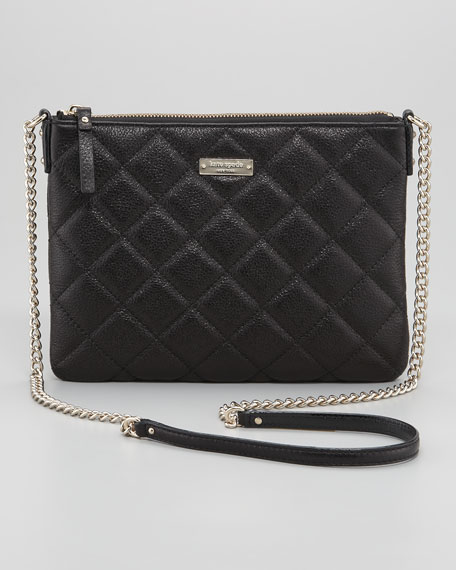 gold coast ginnie crossbody, black