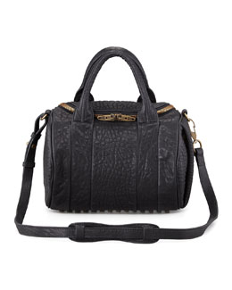 Alexander Wang Rockie Small Crossbody Satchel Bag