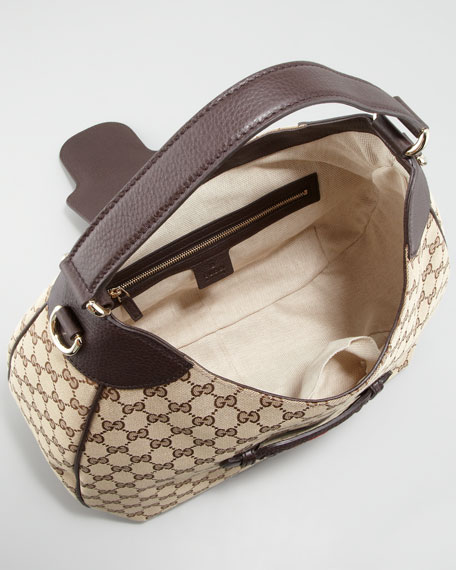 Dressage GG Hobo Bag, Medium