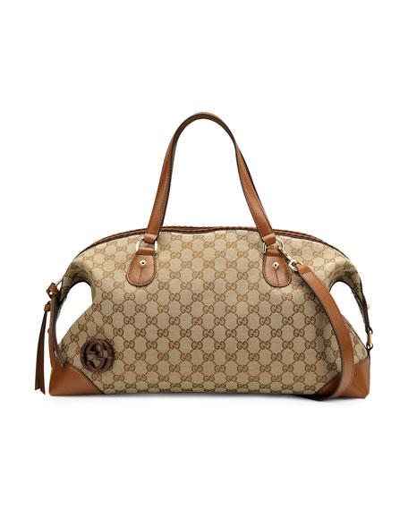 Brick Lane Top-Handle Tote Bag, Medium