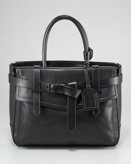 Boxer Tote Bag, Black