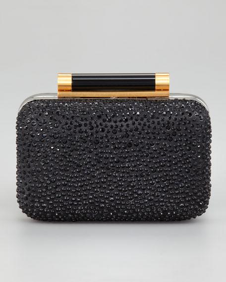 Tonda Pave Crystal Clutch Bag