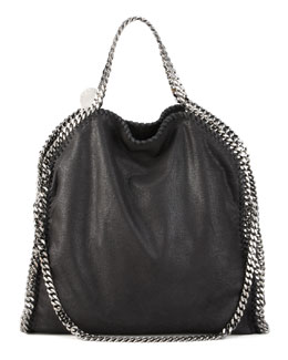 Stella McCartney Fold-Over Falabella, Black