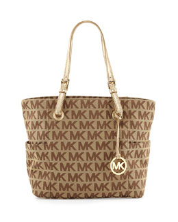 MICHAEL Michael Kors  Jet Set Signature Tote Bag