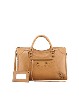 Balenciaga Classic City Bag, Cumin