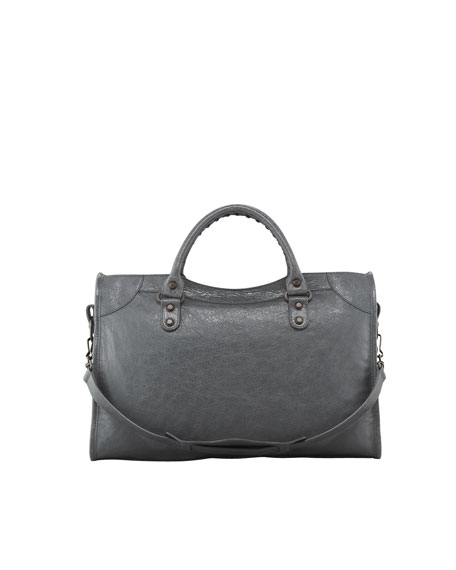 Classic City Bag, Gris Tarmac