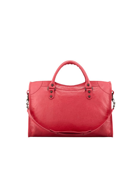 Classic City Bag, Rose Thulian