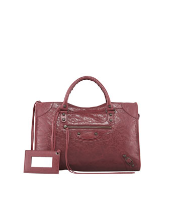 Classic City Bag, Cassis/Bordeaux