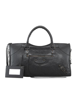 Balenciaga Classic Part Time Bag, Black