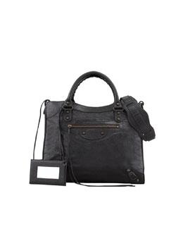 Balenciaga Classic Velo Bag, Black
