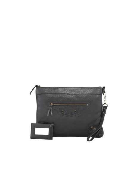 Classic Handle Bag, Black