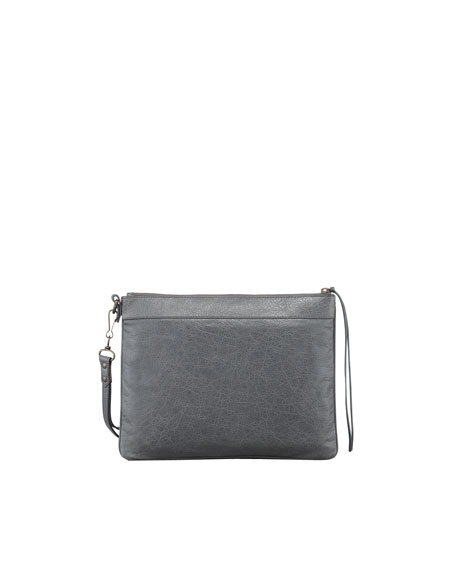 Classic Handle Bag, Gris Tarmac