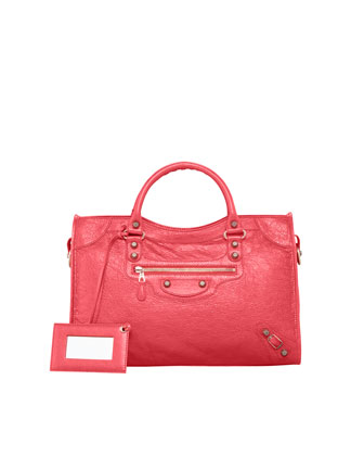 Giant 12 Rose Golden City Bag, Rose Thulian
