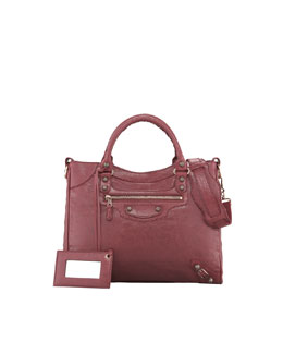 Balenciaga Giant 12 Rose Golden Velo Bag, Cassis/Bordeaux