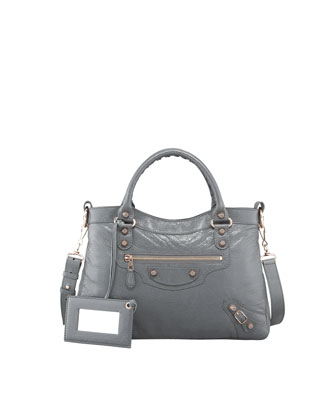 Giant 12 Rose Golden Town Bag, Gris Tarmac