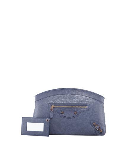 Giant 12 Rose Golden Premier Clutch Bag, Jacynthe