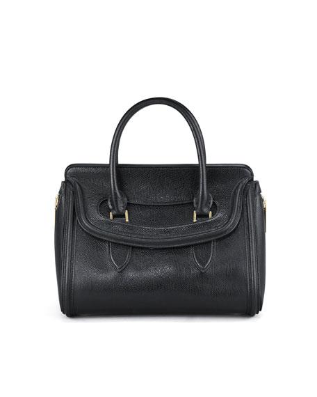 Alexander McQueen Heroine Calfskin Satchel Bag