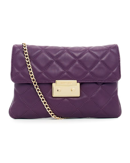 Sloan Quilted Clutch Bag