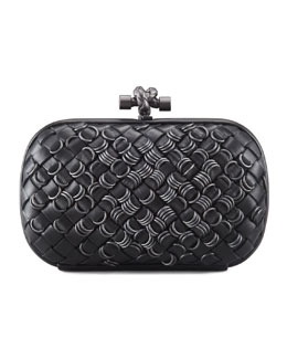 Bottega Veneta Knotted Ring Clutch Bag