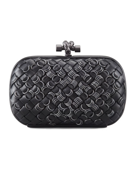 Knotted Ring Clutch Bag