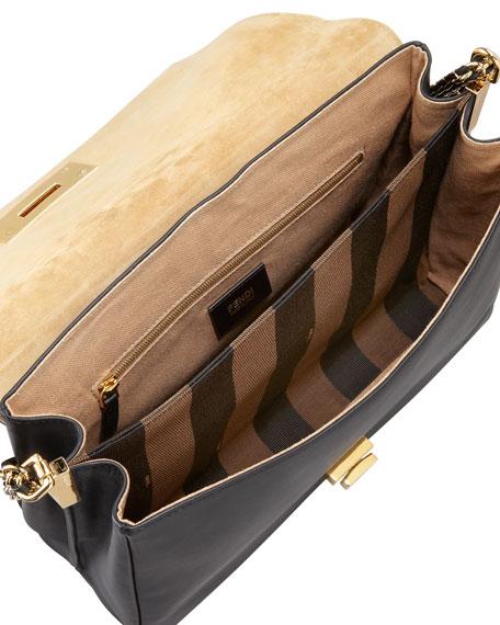 Pequin Tonal Stripe Shoulder Bag
