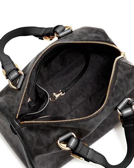 Grayson Medium Logo Satchel Bag