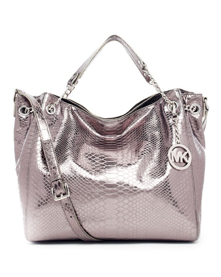 Jet Set Chain Shoulder Tote Bag
