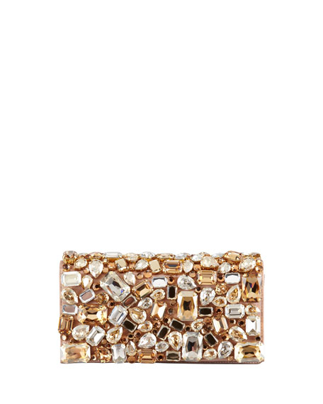 Jeweled Clutch Bag
