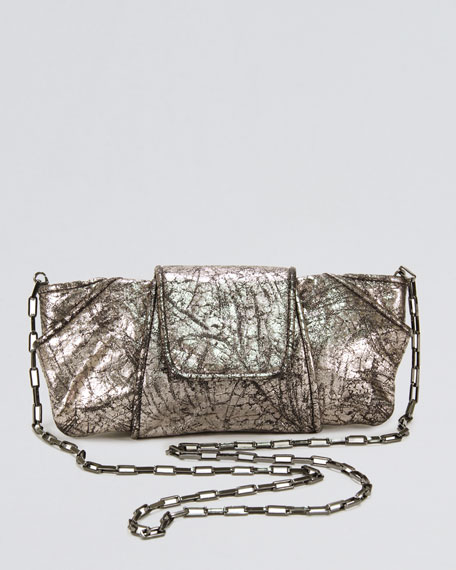 Metallic Lame Clutch Bag