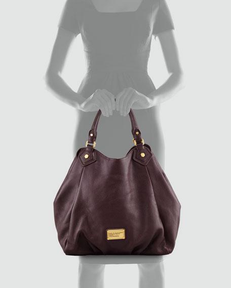 Classic Q Francesca Hobo Bag, Brown