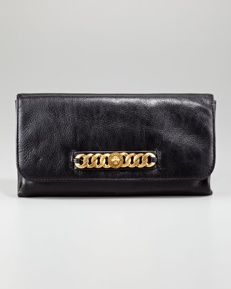 Katie Bracelet Clutch Bag, Black