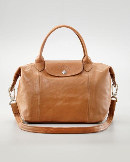 Longchamp Le Pliage Cuir Small Handbag with Strap a71548c9ca
