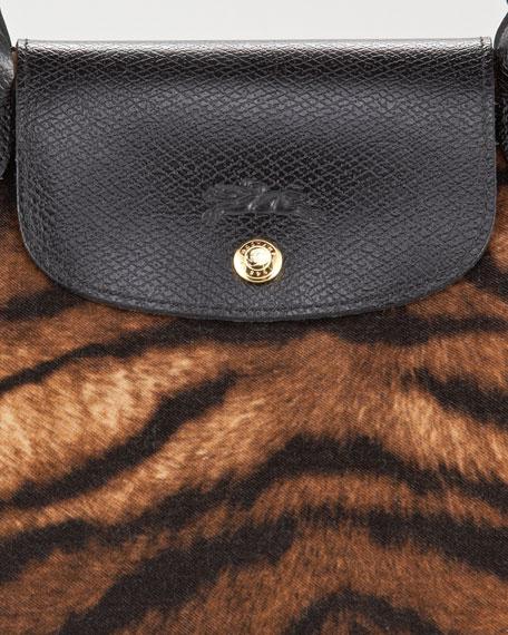 Le Pliage Tigre Handbag, Medium