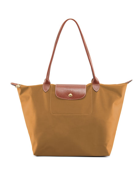 Le Pliage Large Shoulder Tote Bag, Modern Colors