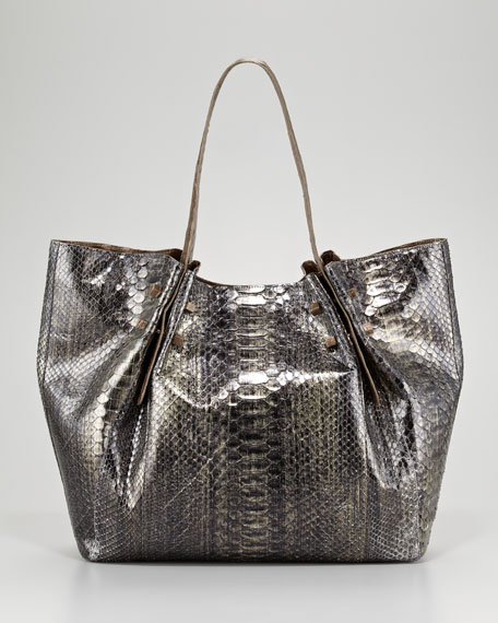 Crocodile and Python Tote Bag
