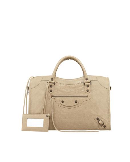 Balenciaga Classic City Bag, Latte