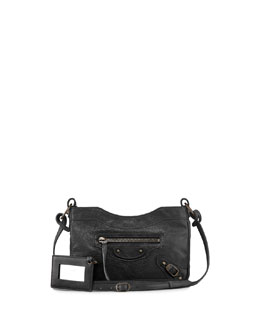 Balenciaga Classic Hip Crossbody Bag, Black