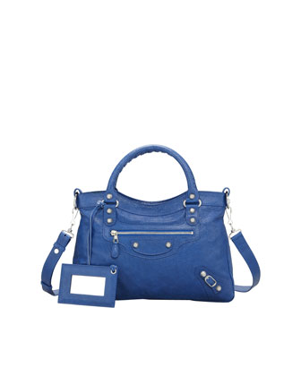Giant 12 Nickel Town Bag, Bluete