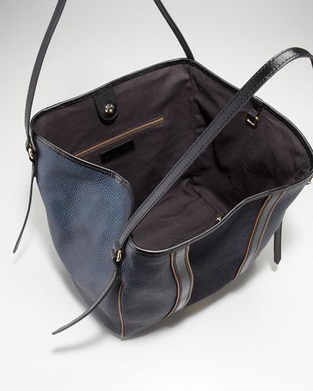 Mixed-Media Medium Tote Bag