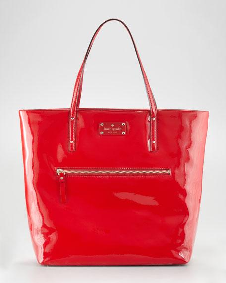 patent leather flicker bon shopper