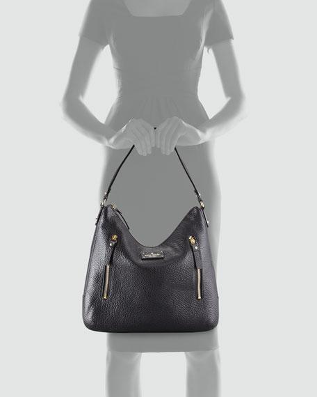 grove court mina leather shoulder bag