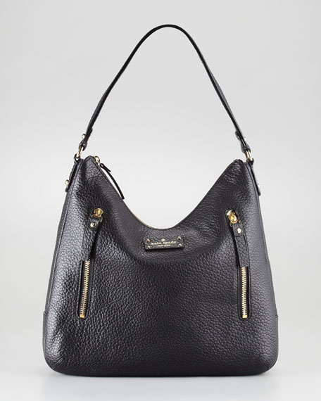 grove court mina leather shoulder bag