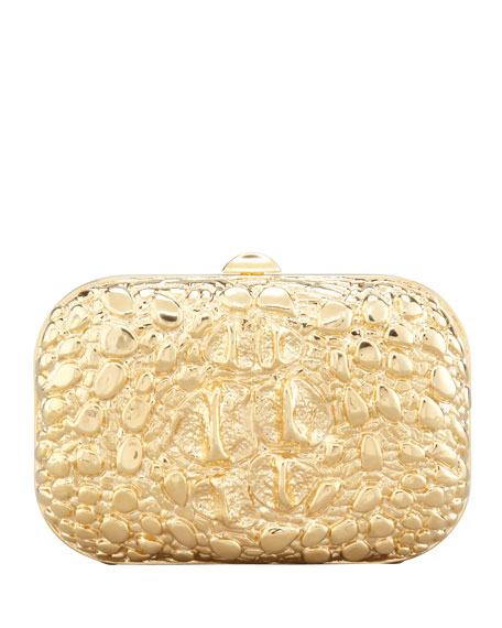 Tom Ford Crocodile-Textured Minaudiere