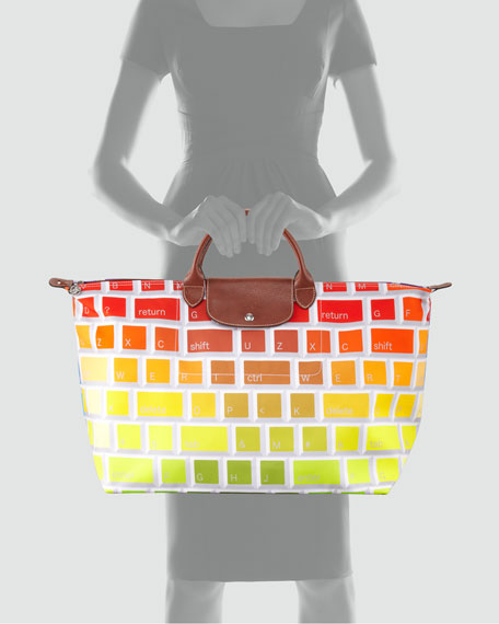 Jeremy Scott Clavier Travel Tote Bag