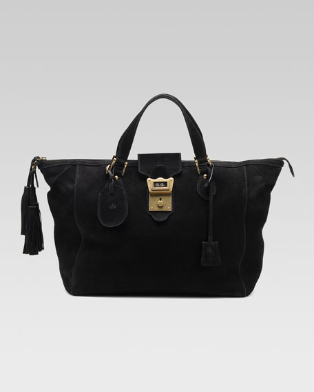 Goldmark Top-Handle Boston Bag, Medium
