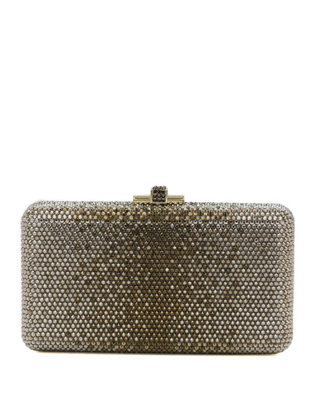 Airstream Large Ombre Crystal Clutch Bag